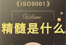 体系|ISO9001的精髓到底是什么?