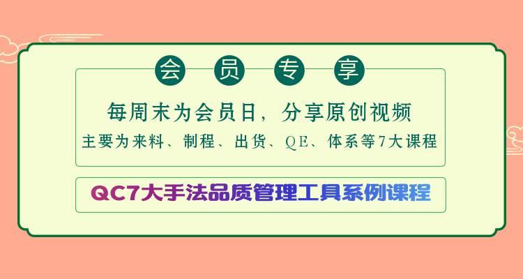 VIP视频|品质管理工具QC7tools01