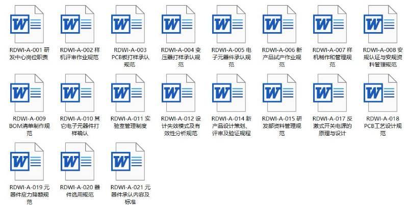 VIP.三阶文件|研发部三阶文件清单与资料