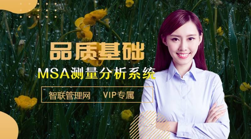 VIP.视频 品质管理工具-MSA