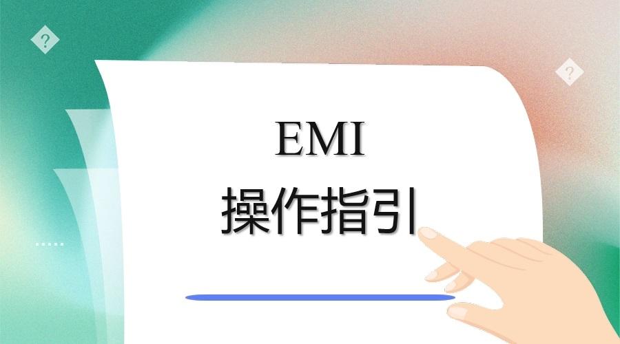 资料.三阶文件-EMI操作指引