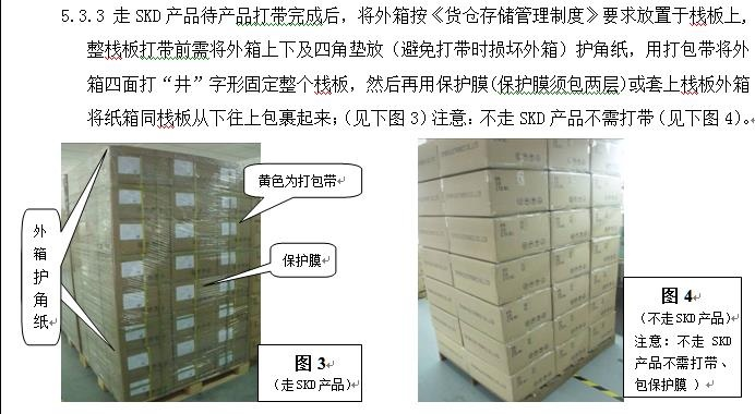 资料.三阶文件产品包装作业管理规范
