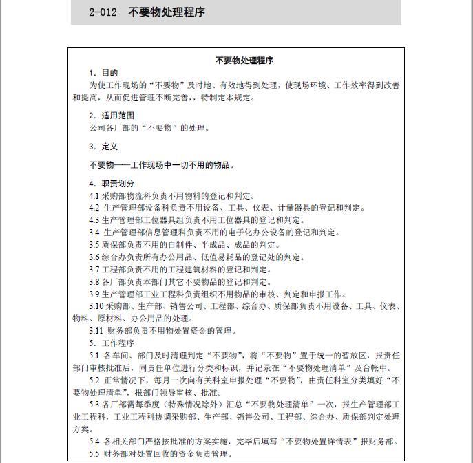 内训资料 工厂7S管理全套共328页,会员福利