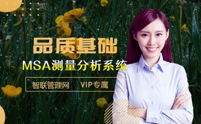 VIP|第三章品质管理五大工具-MSA